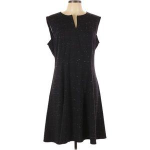 Tommy Hilfiger Sleeveless V-Neck Heathered Dress